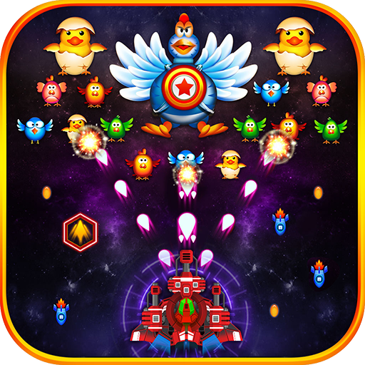 Chicken Shooter 2:Space Attack 街機 App LOGO-硬是要APP