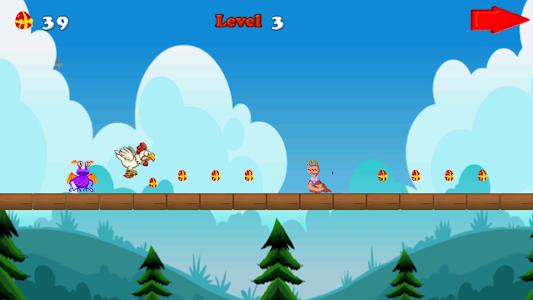 Angry chicken-Super run screenshot 6