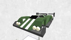 Ln classical racing car