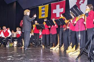 Photo: Auftritt vom Dajoeri Panflötenchor Basel unter der Leitung von Jörg Frei