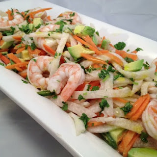 Shrimp and Avocado Escabeche