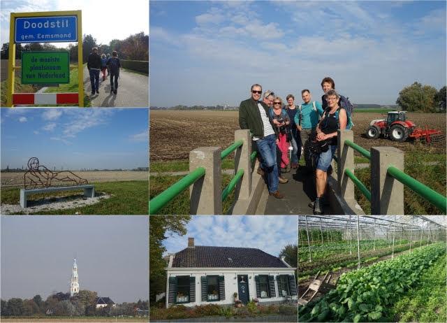Collage buurtwandeling Noord Groningen