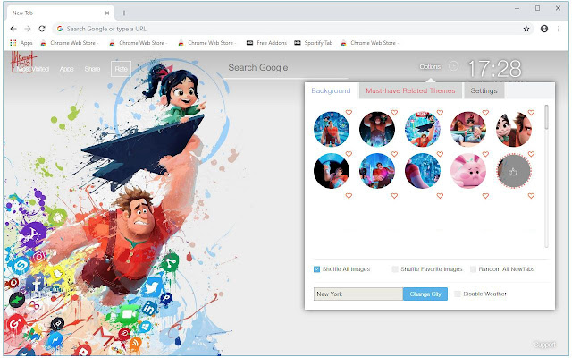 Wreck It Ralph 2 HD Wallpapers New Tab Themes