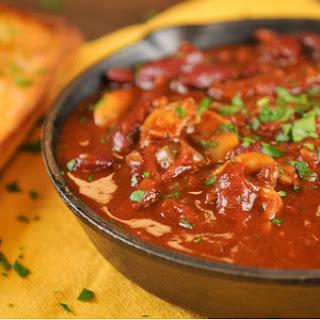 Sun-Dried Tomato and Kidney Bean Chili [Vegan].