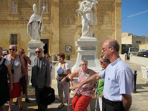 Photo: 13.10.09Gozo,Victoria : Père Raphaël Abdila,accueil au couvent St Augustin,