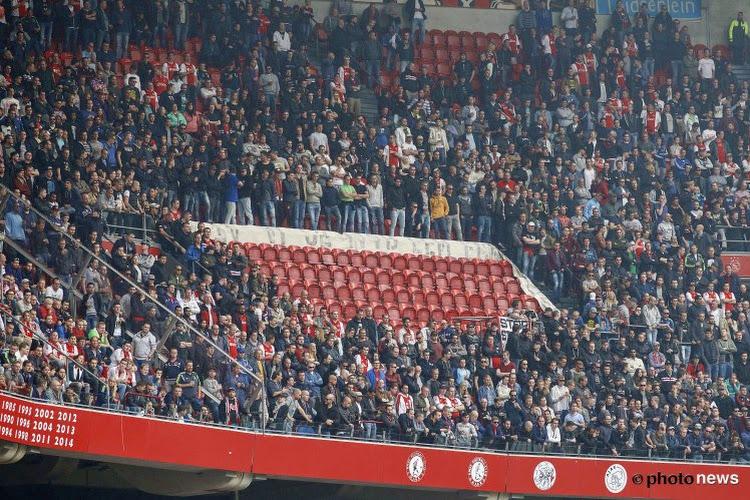 Schandalig: Ajax fans 'hangen Kenneth Vermeer op'