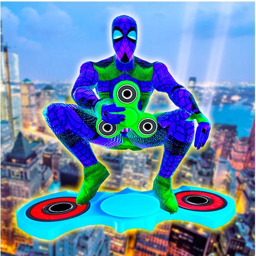 Super Spinner Spider Battle