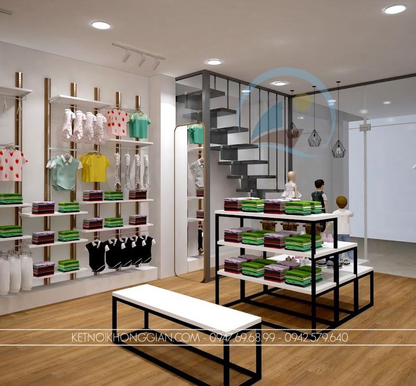 thiết kế shop thời trang trẻ em giá rẻ 7