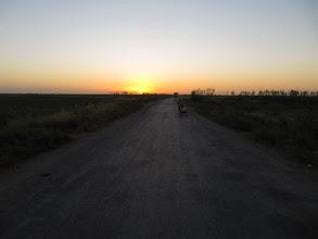 Photo: Day 159 - Sunset on the Desert Road #1