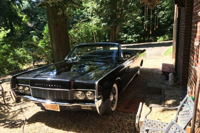 1967 Lincoln Continental 4-door Convertible Hire NY 11568