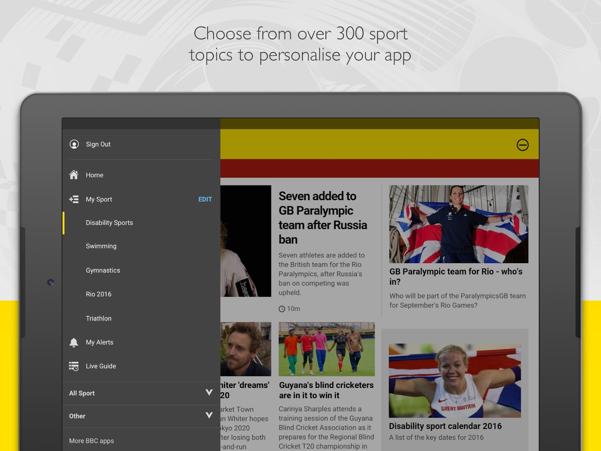 BBC Sport screenshot #9
