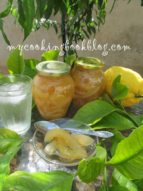 Сладко от лимонови кори