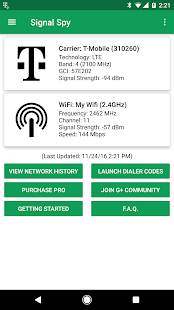 Signal Spy - Monitor Signal Strength & Data Usage - náhled