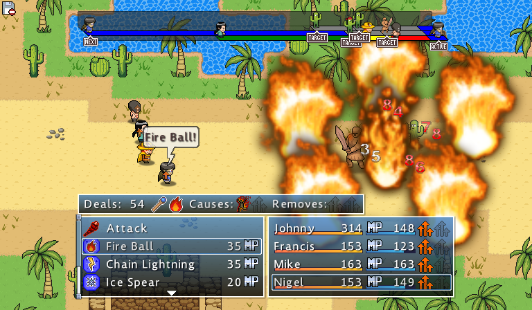 Doom & Destiny Advanced- screenshot
