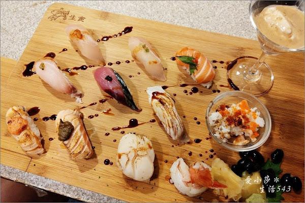 華山-合掌村。隱身市場裡的平價日本料理~必吃頂級十二貫握壽司、丼飯也不錯!(捷運善導寺站5號出口)