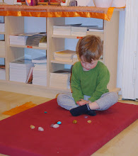 Photo: meditace s kamínky - meditation with a stones