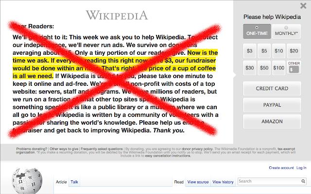 Wikipedia: Guilt Free