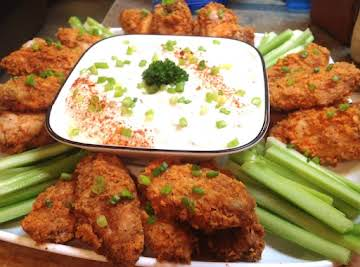 OVEN BAKED PANKO BREADED HOT WINGS