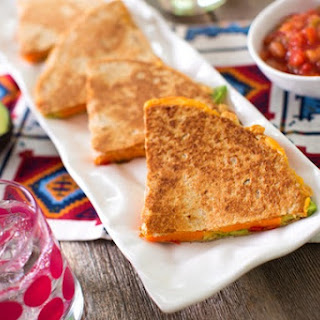 Avocado and Sweet Potato Quesadillas or Soft Tacos