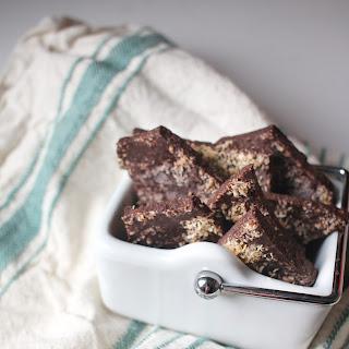 Vegan Coconut Chocolate Bark.