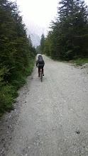 """Photo: """"Dej pejt bl počas"""" ;) Za začetek na kolo iz Planice do Doma v Tamarju."""