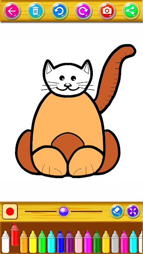 Kitty Coloring Book & Drawing Game 2.0.0 screenshots 8