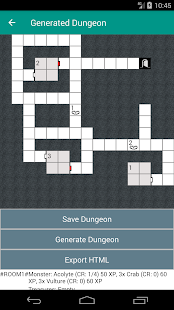 Dungeon Map Generator - náhled