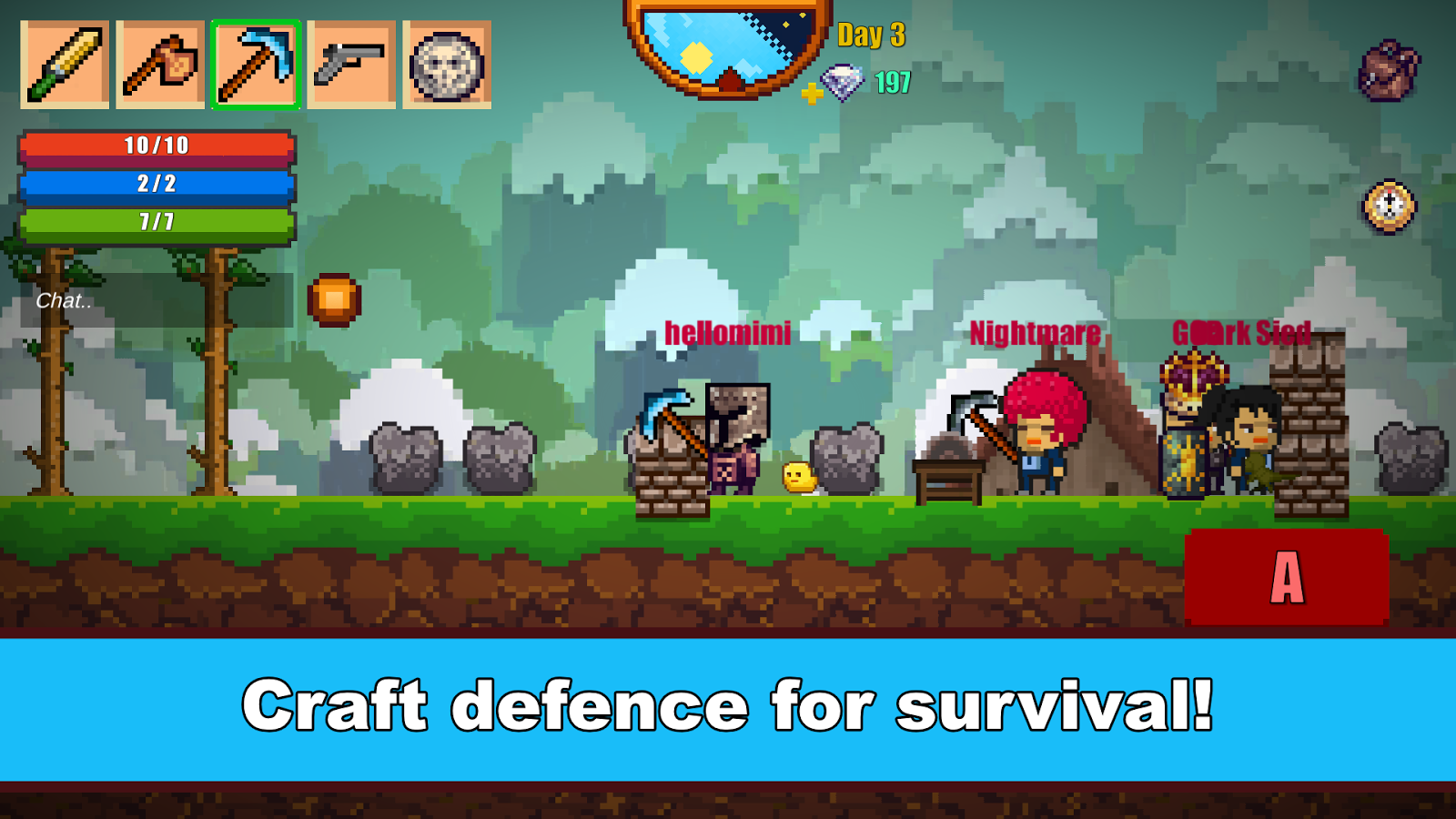 Pixel Survival Game 2- screenshot