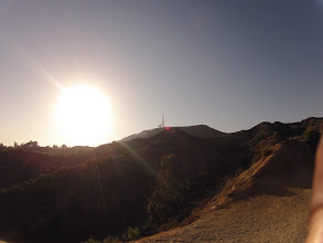 Photo: The Hollywood sign in the distance