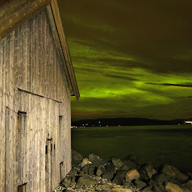 Northern lights by Roald Heirsaunet - Buildings & Architecture Other Exteriors