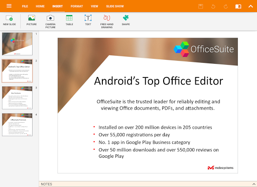 OfficeSuite Pro + PDF (Trial)  screenshots 13