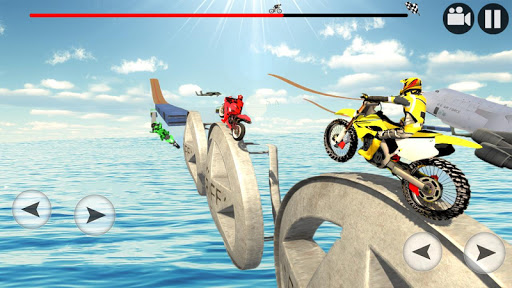 Real Stunt Bike Tricks Master: Racing Game 3D