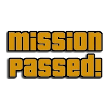 MISSION PASSED! Button Download on Windows