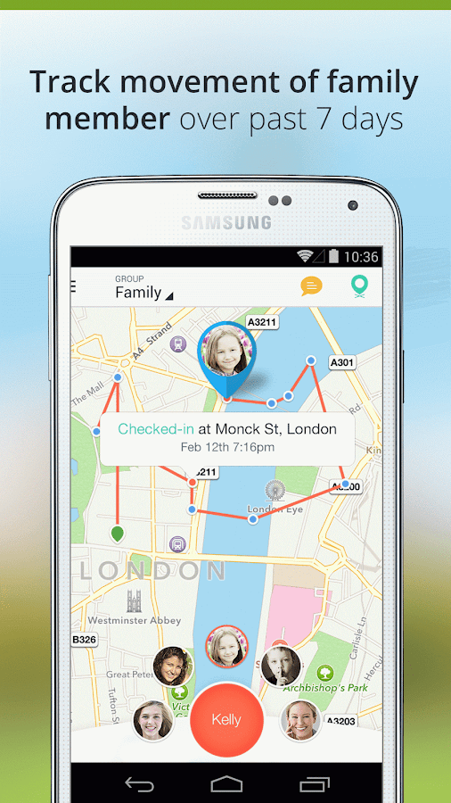 Family Locator - Phone Tracker- screenshot