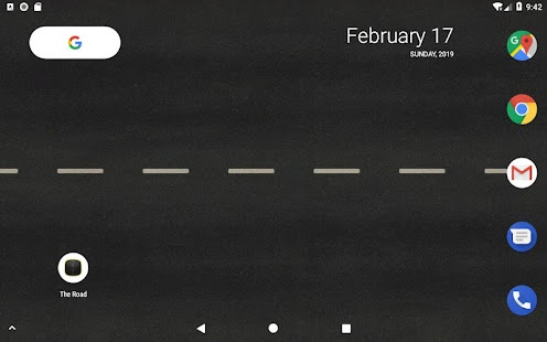 The Road Free Live Wallpaper Screenshot