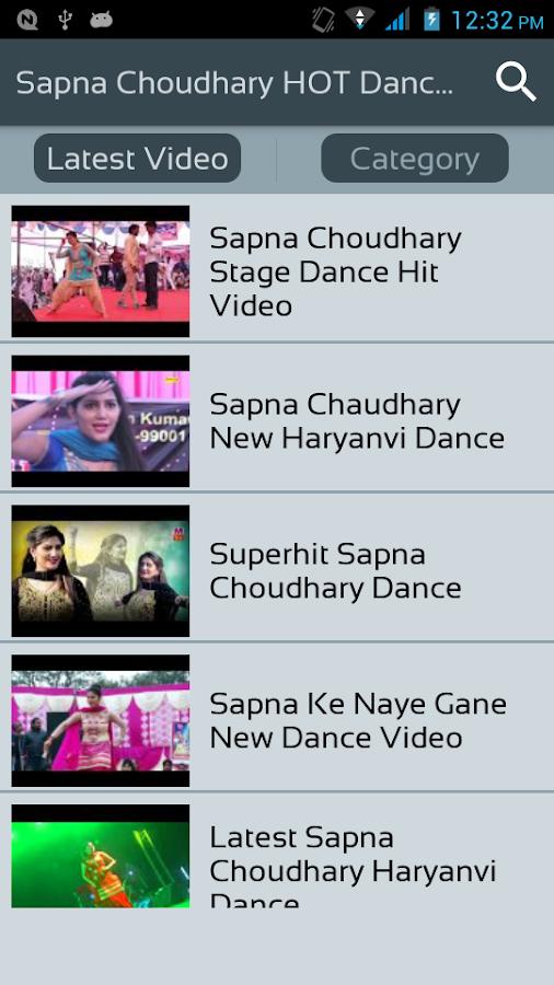Screenshots of Sapna Choudhary HOT Dance 2018 Videos - Naye Gane for iPhone