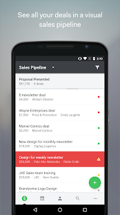 Pipedrive – Sales CRM - náhled