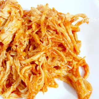 Overnight Slow Cooker Pulled Chicken Recipe