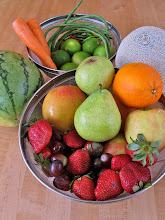 Photo: fruits and other ingredients for hot fruit salad
