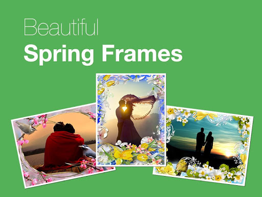 Beautiful Spring Photo Frames