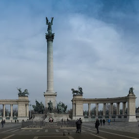 In Budapest by Andrei Toma - City,  Street & Park  City Parks ( hungary, adventure, budapest, europe, travel )