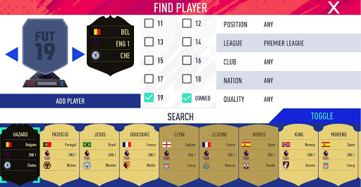 Draft Simulator for FUT 19  screenshots 4