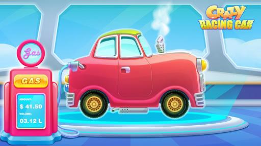 瘋狂賽車手:可愛的賽車遊戲,打造個性賽車