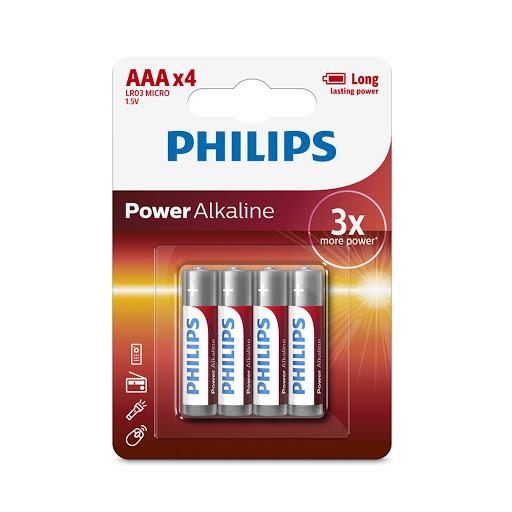 Pin Philips LR03P4B (4 viên AAA)