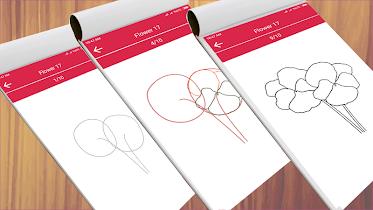 How to Draw Cute Flowers - screenshot thumbnail 03