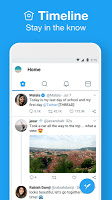 screenshot of Twitter Lite