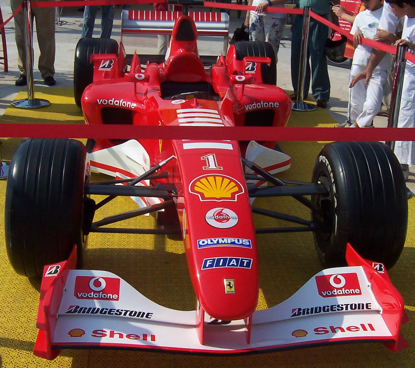 Ferrari da F1 di Antonio De Felice