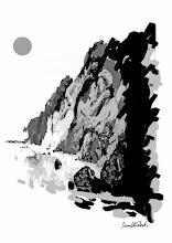 """Photo: GRAVURAS PARAHYBAVISTA Bruno Steinbach. """"Cabo Branco das ilusões, opus II"""". Infogravura / papel couchê, 29,7 x 42 cm, 2010. Paraíba, Brasil. Edição: 200 cópias Assinada e numerada Referência: IP/035 R$ 150,00 (sem moldura, embalada em tubo de cartão)  Gravuras emolduradas com vidro anti-reflexo (tamanho total: 39,5 x 52,5 cm). PREÇO: R$ 350,00  Para comprar, escolha a sua infogravura entre as miniaturas do álbum, copie o código da legenda e encaminhe uma mensagem com seu nome e endereço de destino da obra completos e um telefone de contato para o nosso e-mail: brunosteinbachsilva@gmail.com O pagamento somente será efetuado através de depósito bancário, depois de confirmada a venda. Siga corretamente o que leu aqui e você receberá um e-mail de confirmação com os devidos valores discriminados e instruções. Sua encomenda será enviada pelo PAC (A ENCOMENDA ECONÔMICA DOS CORREIOS), e, dependendo da localidade no Brasil, será entregue entre 7 e 30 dias após a confirmação do depósito (envie também um comprovante por e-mail) Simples, Fácil e Seguro!  Brevemente estaremos efetuando as vendas através do site PagSeguro.  Contato: brunosteinbachsilva@gmail.com (83) 986609282 OI / 999518663 TIM"""