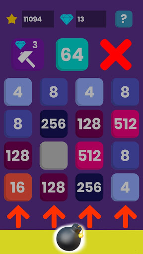 2048 New Era - free number brain out test game android2mod screenshots 15