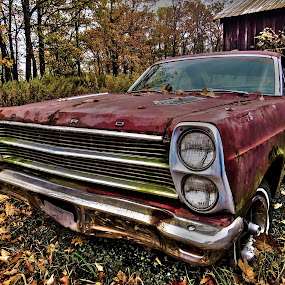 66 Fairlane by Mona Marie Hess - Transportation Automobiles ( , hdr )